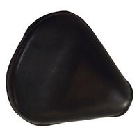 "Hardbody Seat Solo 15"" Long x 13"" Wide Black Leather Includes Hardware Suit Custom"