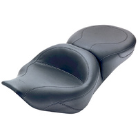 """Mustang MUSTANGONE PIECE TOUR SEAT FITS ROAD KING 1997/2007 FR 17""""WIDEREAR 14""""WIDE #75464"""