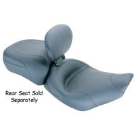 "Mustang MUSTANG SOLO SEAT W/BKRST 15"" FITS ROAD KING 97/07SCREAMIN EAGLE 97/05FLHX ST GLIDE06/07"