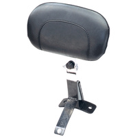 Mustang ULTRA DRIVER BACKREST KIT FITS STOCK 09/LATER ONE PIECE TOURING SEAT MUSTANG#79610