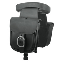 PILLION PAD W/ZIP OFF SADDLEBAGS SUCTION CUP INSALLATION