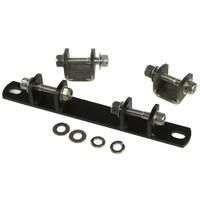 Hardbody 27904 Weld-On Solo Seat Bracket (us w-Mini Shocks - Sold Separately) Universal Use Custom Applications Sold Kit