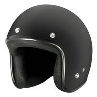M2R 225 Helmet Flat Black w/Peak