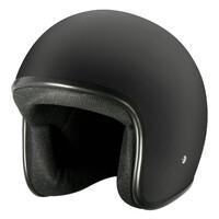 M2R 225 Helmet Flat Black w/No Peak [Size:SM]
