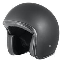 M2R 225 Helmet Vice Matte Black w/No Studs