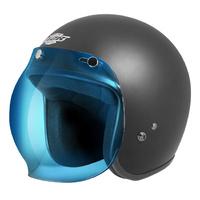 M2R M2R-1114632 Blue Bubble Visor for (B2) Helmets