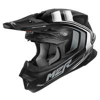 M2R EXO Helmet Edge Matte Black/White