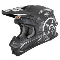 M2R EXO Helmet Unit Victorian Matte Black/Silver