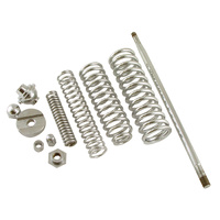 SPRING KIT FOR SPRINGER FORKS USE W ITH MOST CUSTOM SPRINGERS