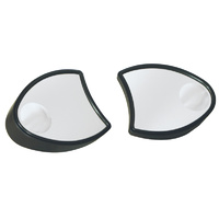 V-FACTOR  FAIRING MOUNT MIRRORS BLACK FLT MODELS 1996/2013 INCLUDES WIDE ANGLE LENS