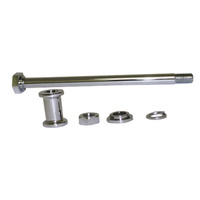 AXLE KITREAR W/CHROME HEAD K MODEL & SPORTSTER 1952/1978 W/CHROME PLAT