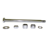 AXLE KITREAR W/CHROME HEAD SPORTST ER 1979/1999 W/CHROME PLATED HARDWA