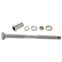 REAR AXLE KIT BT 36/57 W/ CHR HARDW ARE