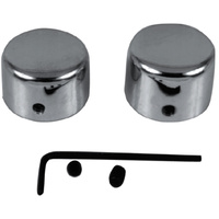 AXLE NUT COVER KITFRONT  CP ALL WI DE GLIDE FORKS 73/LATER ALL 39MM FO
