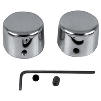 AXLE NUT COVER KITFRONT  CP FXSTS 1988/LATER* - CHROME REPLACES HD 43