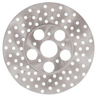 "BRAKE ROTOR DRILLED SS 10"" FL FX R EAR 78/80 FL FRNT 78/84 SS RPLS HD"