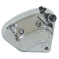 CHROME OE STYLE RIGHT FRONT BRAKE CALIPER 00-UP FITS HARLEY OR CUSTOM USE