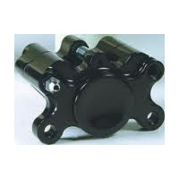 BRACKET ONLY TO SUIT DUAL PISTON FRONT ALL MODE LS 84/99 BLACK ANODIZED