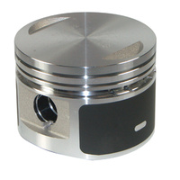 PISTON 8.5:1 +.005 MOLY BT EVO 134 0CC W/PIN & LOCKS 3 1/2 +.005