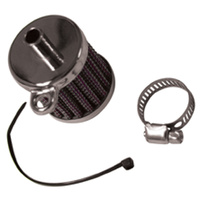 CRANKCASE BREATHER FILTER KIT BT SP T ALL MDLS CUS APP TAB MT CP W/3/8""