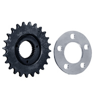 Sprocket Trans 24t With .250 Offset & .200 Thick Rear Sprocket Spacer
