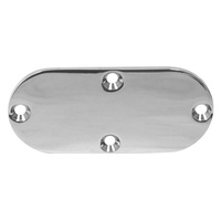 INSPECTION COVER 65-06 BIG TWIN SOFTAIL DYNA MODELS C/SUNK holesCHR