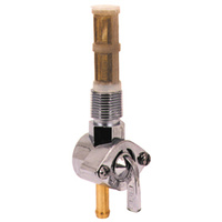 """V-FACTOR  FUEL VALVE HD 66/74 1/4"""" LINE EARLY STYLE 3/8""""NPT STRAIGHT OUTLET REPLACES HD 62125-55B"""