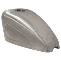 V-FACTOR  SPT STYLE BOBBER GAS TANK W/CUT & WELD CUSTOM MOUNT UW 82/L* CAP INDENTED SIDES