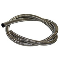 "Goodridge  FUEL LINEFLEXIBLE BRAIDED SS CUSTOM USE W/HOSE END/WORM CLP 6"" X 1/4""ID X 1/2""OD .202-04-6"