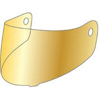 M2R MCL-1001888 Gold Iridium Visor for MR901 Helmets