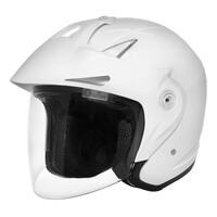 DriRider Freedom Touring Open Face Helmet White