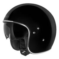 DriRider Highway Open Face Helmet Black