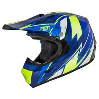 M2R XYOUTH Helmet Thunder Blue