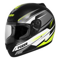 M2R M1 Helmet Chase Matte Black/White/Hi-Vis
