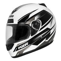 M2R M1 Helmet Chase Matte White/Black