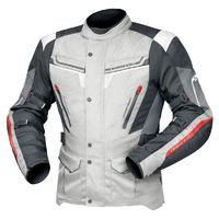 DriRider Apex 5 Textile Jacket Grey/White/Black