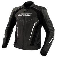 Argon Descent Perforated Jacket Black/White