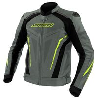 Argon Descent Perforated Jacket Grey/Lime