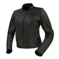 Argon Abyss Perforated Ladies Jacket Black