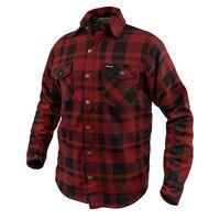 Argon Savage Flanno Jacket Black/Red