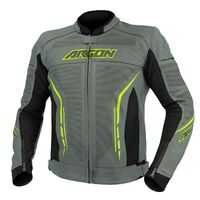 Argon Scorcher Perforated Jacket Grey/Lime