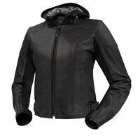 Argon Impulse Non-Perforated Ladies Jacket Black