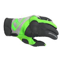 DriRider RX Adventure Gloves Black/Green