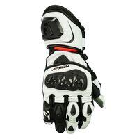 Argon Mission Gloves White/Red