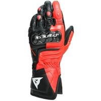 Dainese Carbon 3 Long Gloves Black/Fluro-Red/White