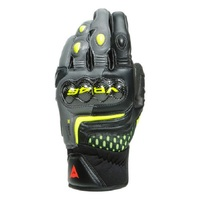 Dainese VR46 Sector Short Gloves Black/Anthracite/Fluro-Yellow