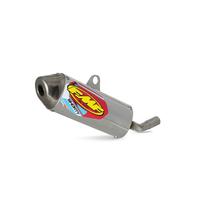 FMF Racing 025187 Powercore 2.1 Shorty Aluminum Silencer Muffler w/Stainless End Cap for KTM/Husqvarna Models