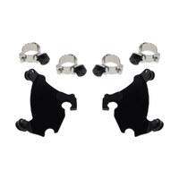 Memphis Shades MEM-MEB1981 Gauntlet Trigger-Lock Mounting Hardware Black for Street 500 15-Up/Dyna 91-05/Sportster 87-12