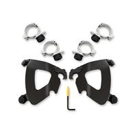 Memphis Shades MEM-MEB2024 Gauntlet Trigger-Lock Mounting Hardware Black for Scout & Scout Bobber 15-Up