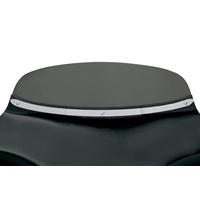 Memphis Shades MEM-MEM0918 Polished Solid Stainless Steel Windshield Trim for Memphis Shades Batwing Fairings